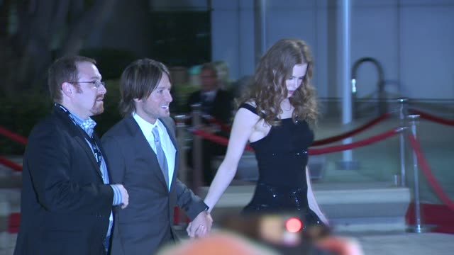 keith urban , nicole kidman at the 2010 musicares person of the year gala at los angeles ca. - keith urban stock videos & royalty-free footage