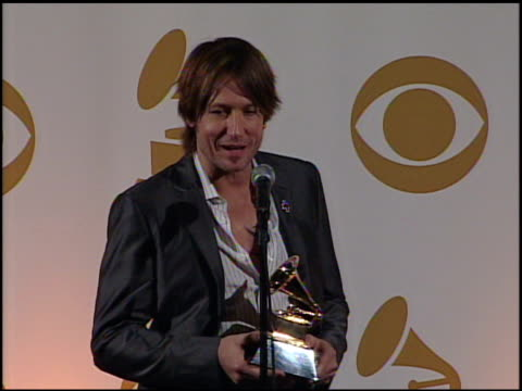 Keith Urban on his nomination on country music crossing over to pop at the 52nd Annual GRAMMY Awards Press Room at Los Angeles CA