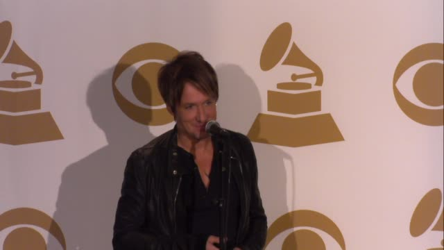 keith urban on the awards at the grammy nominations concert live!! - countdown to music's biggest night on 12/6/2013 in los angeles, ca. - keith urban stock videos & royalty-free footage