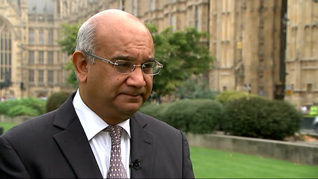 keith vaz interview on backlog of passports and shaun wright resignation england london ext keith vaz mp interview sot on passports backlog / money... - rotherham stock videos & royalty-free footage