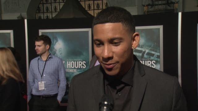interview keiynan lonsdale on what it means to have his movie premiere at such an iconic theater on if he's excited to see it in imax and on what it... - tcl chinese theater stock-videos und b-roll-filmmaterial