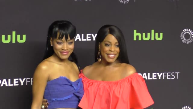Keke Palmer and Niecy Nash at The Paley Center for Media 'Scream Queens' presentation at PaleyFest LA at the Dolby Theatre in Hollywood at Celebrity...