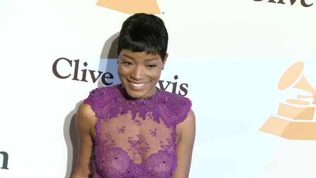 stockvideo's en b-roll-footage met keke palmer at the 2016 pregrammy gala and salute to industry icons honoring irving azoff at the beverly hilton hotel on february 14 2016 in beverly... - irving azoff