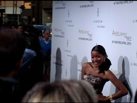 vidéos et rushes de keke palmer at the 'akeelah and the bee' los angeles premiere at academy of motion picture arts & sciences in beverly hills, california on april 20,... - academy of motion picture arts and sciences