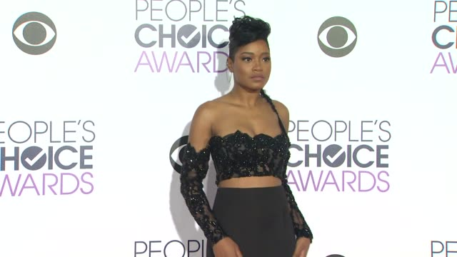 Keke Palmer at the People's Choice Awards 2016 at Nokia Plaza LA LIVE on January 6 2016 in Los Angeles California