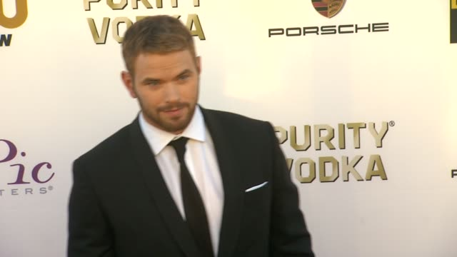 Kellan Lutz at 19th Annual Critics' Choice Movie Awards Arrivals at The Barker Hanger on in Santa Monica California