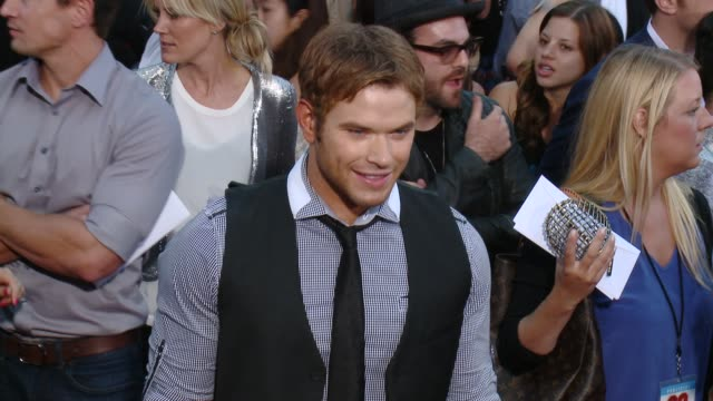 kellan lutz at 22 jump street los angeles premiere at regency village theatre on june 10 2014 in westwood california - regency style stock videos and b-roll footage