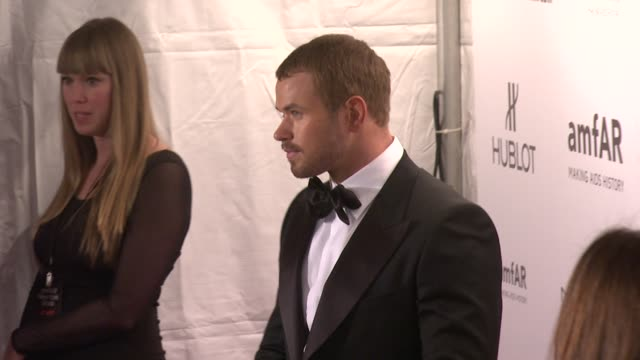 Kellan Lutz at amfAR New York Gala To Kick Off Fall 2012 Fashion Week on in New York