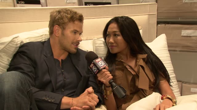 Kellan Lutz at Bloomingdale's Celebrates Fashion's Night Out on 9/6/2012 in New York New York