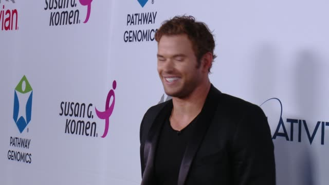 Kellan Lutz at Pathway To The Cure For Breast Cancer A Fundraiser Benefiting Susan G Komen at Santa Monica Airport on June 11 2014 in Santa Monica...