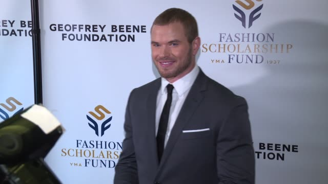 Kellan Lutz at The 80th annual YMA Fashion Scholarship Fund Geoffrey Beene National Scholarship Awards Dinner at Grand Hyatt New York on January 12...