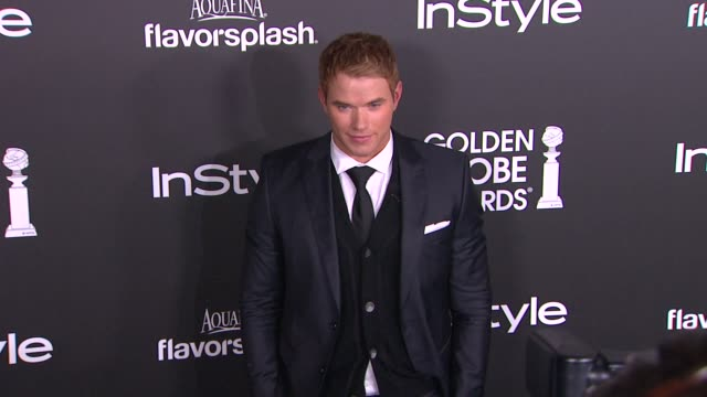 Kellan Lutz at The Hollywood Foreign Press Association And InStyle Celebrate The 2014 Golden Globe Awards Season in West Hollywood CA on