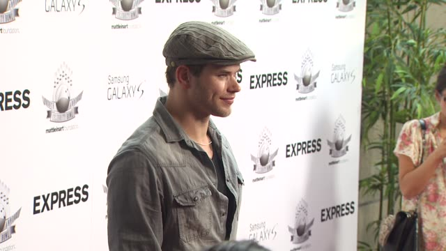 Kellan Lutz at the Matt Leinart's Fourth Annual 'Bowling With The Stars' Event at Hollywood CA