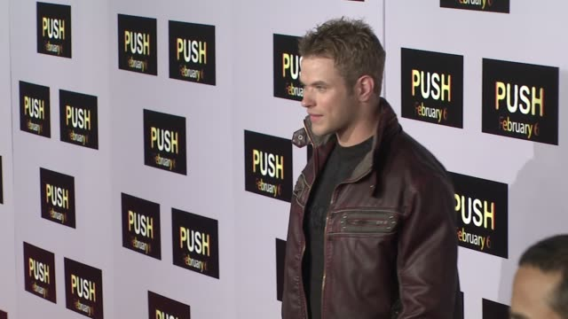 Kellan Lutz at the 'Push' Premiere at Los Angeles CA