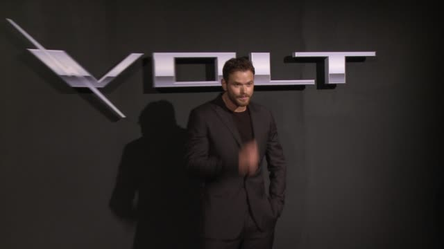 Kellan Lutz at the West Coast Reveal Of The New 2016 Next Generation Chevrolet Volt at Quixote Studios on January 12 2015 in Los Angeles California