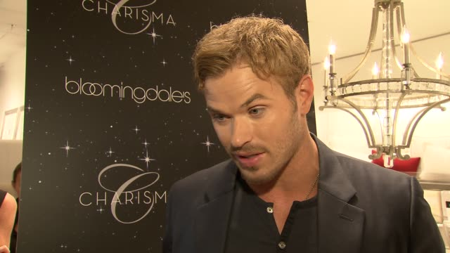 Kellan Lutz on th event at Bloomingdale's Celebrates Fashion's Night Out on 9/6/2012 in New York New York