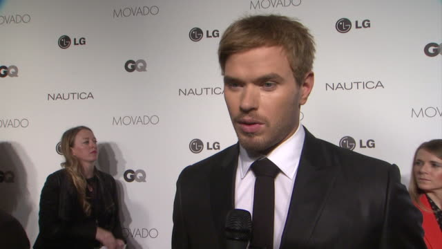 Kellan Lutz on the event and being raised by his mom at GQ's The 2012 Gentlemen's Ball in New York 10/24/12