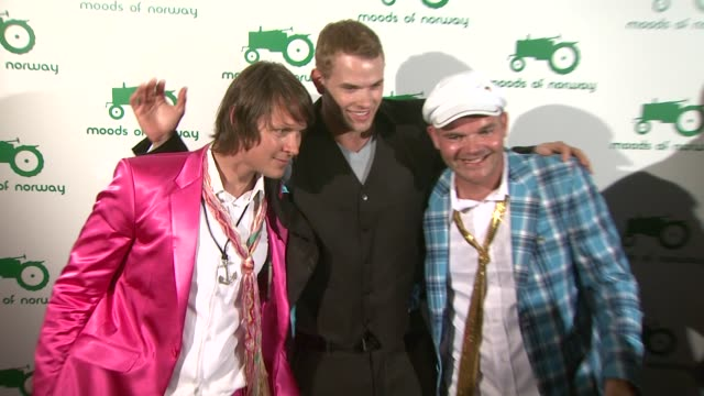 Kellan Lutz Simen Staalnacke Peder Borresen Stefan Dahlkvist at the Moods Of Norway US Flagship Launch at Los Angeles CA