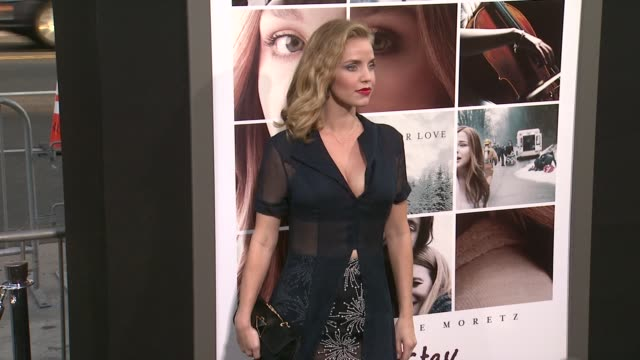 Kelli Garner at the If I Stay Los Angeles Premiere at TCL Chinese 6 Theatres on August 20 2014 in Hollywood California