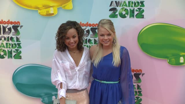 Kelli Goss at Nickelodeon's 25th Annual Kids' Choice Awards on 3/31/2012 in Los Angeles CA