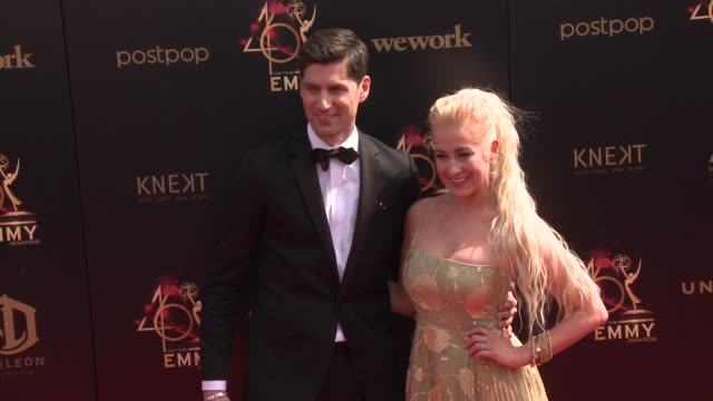 kellie pickler and ben aaron at the 2019 daytime emmy awards at pasadena civic center on may 05 2019 in pasadena california - kellie pickler stock videos & royalty-free footage