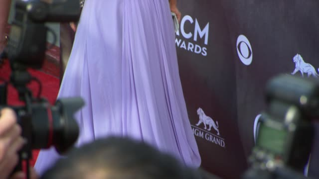 kellie pickler at the 49th annual academy of country music awards arrivals at mgm grand garden arena on april 06 2014 in las vegas nevada - kellie pickler stock videos & royalty-free footage
