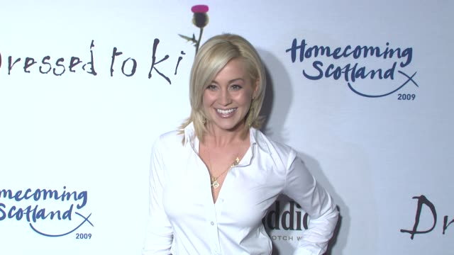 kellie pickler at the 7th annual 'dressed to kilt' charity fashion show at new york ny - kellie pickler stock videos & royalty-free footage