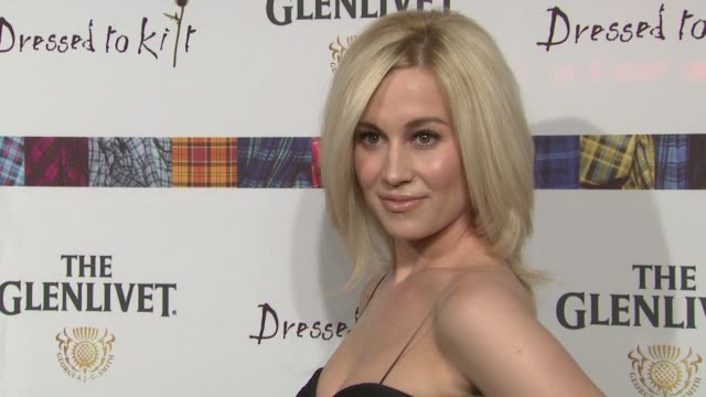 kellie pickler at the 9th annual dressed to kilt charity fashion show at new york ny. - kilt stock videos & royalty-free footage
