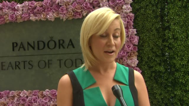 interview kellie pickler on today's event pandora's support of extraordinary women someone influential in her life her upcoming album her... - montage beverly hills stock videos & royalty-free footage