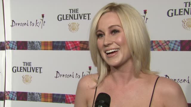 Kellie Pickler talks about her admiration of the goals of the event Talks about importance of celebrating Scottish culture Describes what she's...