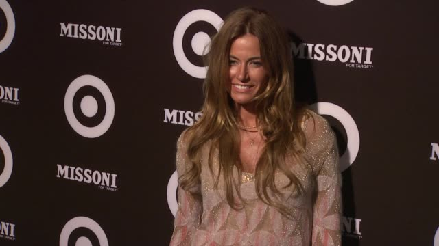 vídeos de stock, filmes e b-roll de kelly bensimon at the missoni for target private launch event at new york ny - missoni