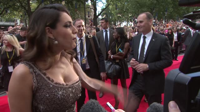 kelly brook on working on set with leigh francis aka keith lemon the filming process her hopes for keith lemon at keith lemon the film uk premiere at... - kelly brook stock-videos und b-roll-filmmaterial