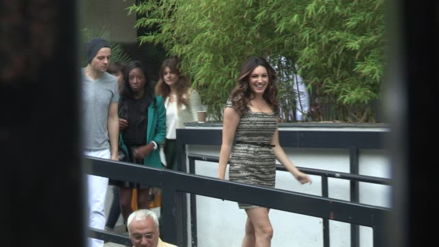 kelly brook sighted kelly brook at itv studios southbank on august 20 2012 in london england - kelly brook stock-videos und b-roll-filmmaterial