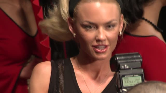 kelly carlson at the 2006 maxim hot 100 party at buddha bar in new york, new york on may 18, 2006. - ブッダバー点の映像素材/bロール