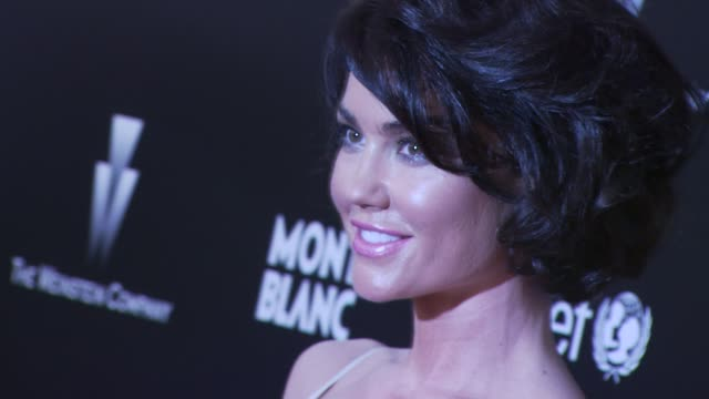 Kelly Carlson at the Montblanc Charity Cocktail hosted by The Weinstein Company to benefit UNICEF at Soho House at West Hollywood CA