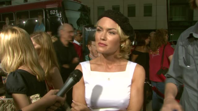 Kelly Carlson on coming out to get informed her thoughts on Michael Moore on wearing a hat to hide her roots and on shooting the upcoming season of...