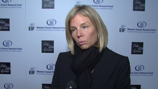 kelly chapman meyer on what this evening means for eif's women's cancer research fund gwyneth paltrow courteney coxarquette's dedication to the cause... - gwyneth paltrow stock videos and b-roll footage