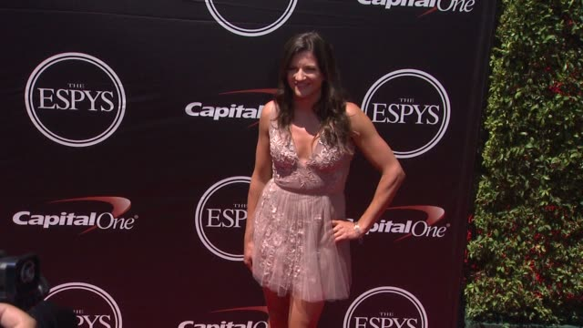 kelly clark at the 2015 espys at microsoft theater on july 15 2015 in los angeles california - microsoft theater los angeles stock videos and b-roll footage