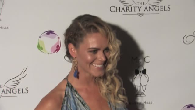 Kelly Dowdle at Linda's Voice Hosts BBQ And Bikinis Benefit at Mr C in Beverly Hills on August 25 2015 in Los Angeles California
