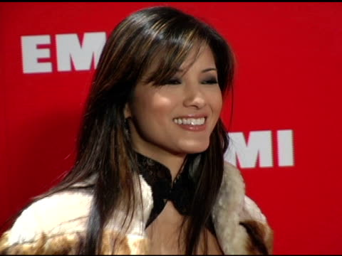 kelly hu at the emi post-grammy awards bash at the beverly hilton in beverly hills, california on february 13, 2005. - emi grammy party stock videos & royalty-free footage