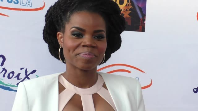 kelly jenrette at the lupus la orange ball a night of superheroes at fox studios in los angeles at celebrity sightings in los angeles on may 07 2016... - lupus la orange ball video stock e b–roll