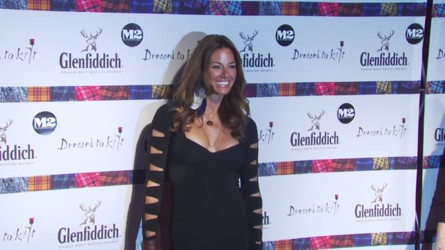 kelly killoren bensimon at the 8th annual 'dressed to kilt' charity fashion show at new york ny - dressed to kilt stock videos & royalty-free footage