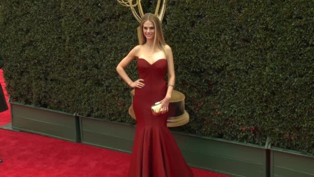 Kelly Kruger at the 2018 Daytime Emmy Awards at Pasadena Civic Auditorium on April 29 2018 in Pasadena California