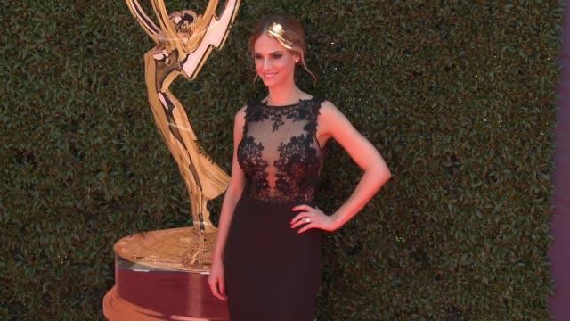 Kelly Kruger at the 44th Annual Daytime Emmy Awards at Pasadena Civic Auditorium on April 30 2017 in Pasadena California