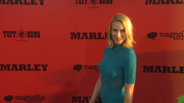 kelly lynch at marley los angeles premiere on 4/17/12 in hollywood, ca. - kelly lynch stock videos & royalty-free footage