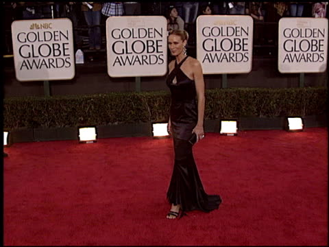 kelly lynch at the 2004 golden globe awards at the beverly hilton in beverly hills, california on january 25, 2004. - kelly lynch stock videos & royalty-free footage