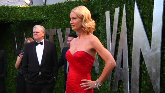 kelly lynch at the 2012 vanity fair oscar party hosted by graydon carter - inside party at west hollywood ca. - kelly lynch stock videos & royalty-free footage