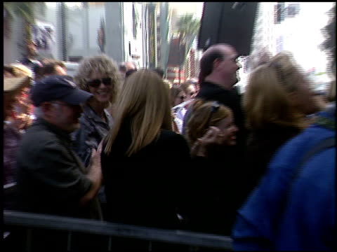 kelly lynch at the dediction of randy quaid's walk of fame star at the hollywood walk of fame in hollywood, california on october 7, 2003. - kelly lynch stock videos & royalty-free footage