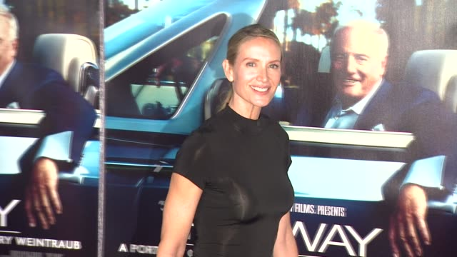 kelly lynch at the 'his way' premiere at los angeles ca. - kelly lynch stock videos & royalty-free footage