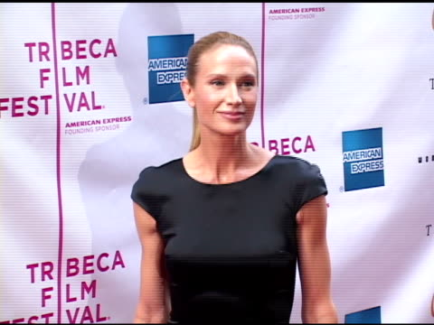 kelly lynch at the 'the interpreter' - new york premiere at the ziegfeld theatre in new york, new york on april 19, 2005. - kelly lynch stock videos & royalty-free footage